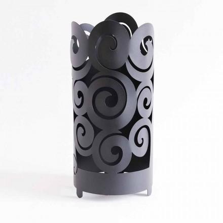 Porte-parapluie au design moderne en fer coloré fabriqué en Italie - Astolfo