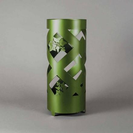 Porte-parapluie en fer coloré de conception moderne, fabriqué en Italie - Enrica