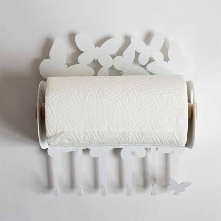 Porte-Papier Peint Design en Fer Précieux Fabriqué en Italie - Leiden