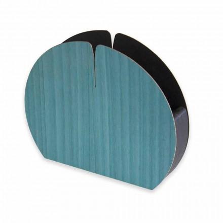 Porte-serviettes de table moderne en bois naturel fabriqué en Italie - Stan
