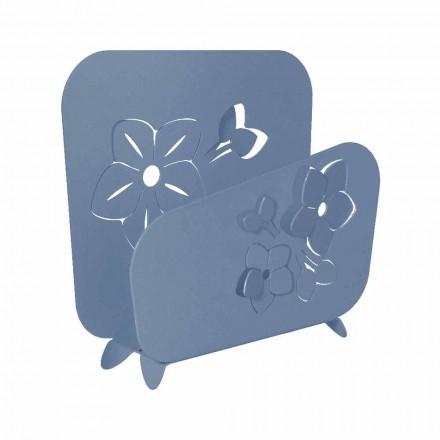 Porte-serviettes floral moderne en fer précieux fait main - Marken