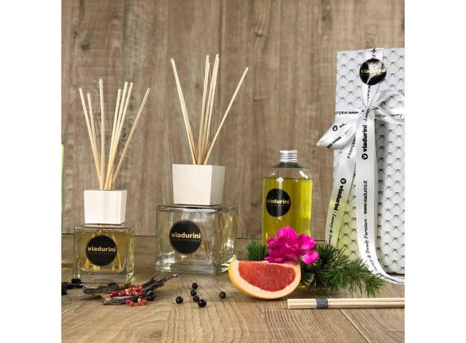 Ambient Fragrance Oud Wood 200 ml avec Sticks - Ventodisardegna