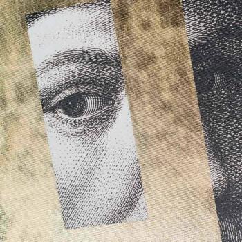 Tableau sur toile moderne imprimé avec décoration à la feuille d'or Made in Italy - Vinci