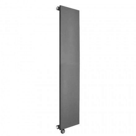 Radiateur électrique vertical Design minimaliste en acier coloré 700 W - Glace