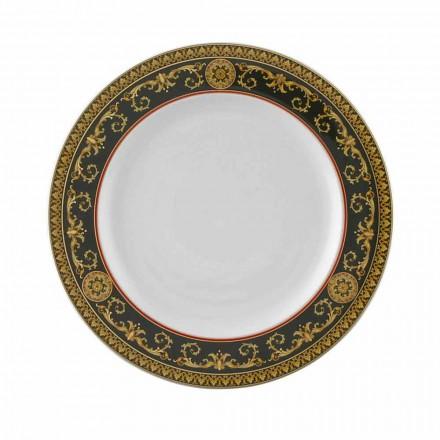 Rosenthal Versace Medusa Blue 27cm assiette plate en porcelaine