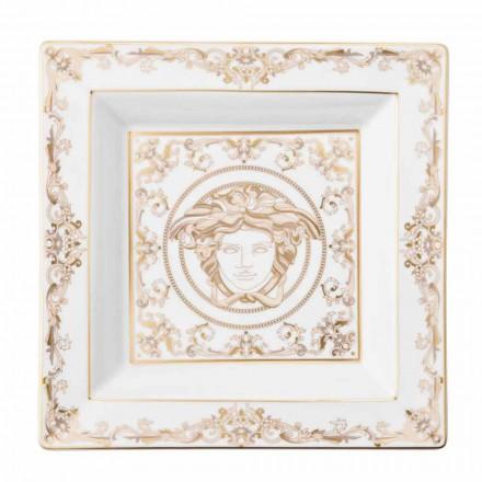 Rosenthal Versace Medusa Gala Porcelaine coupe design 22cm