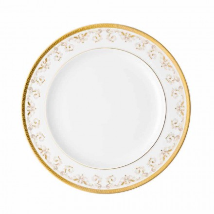Rosenthal Versace Medusa Gala Or Assiette plate 27cm en porcelaine