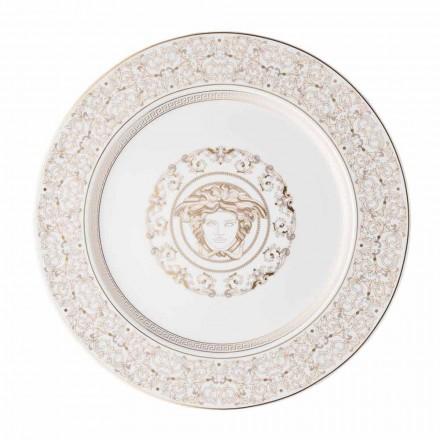 Rosenthal Versace Medusa Gala Assiette placeholder design en porcelaine