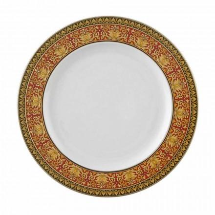 Rosenthal Versace Rouge Méduse 22 cm assiette plate en porcelaine