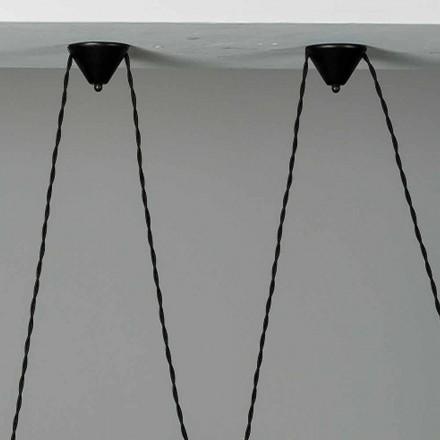 Composition du pavillon en céramique de la lampe Battersea 975ST - Toscot
