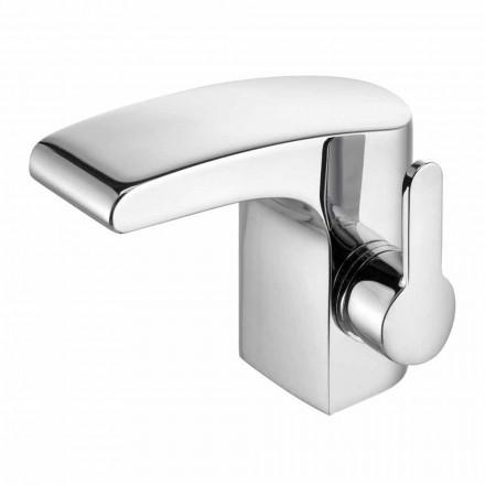 Robinet de lavabo en laiton chromé sans drain, haute qualité - Gonzo