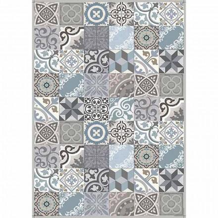 Chemin de table au design moderne en PVC et motif polyester - Belita