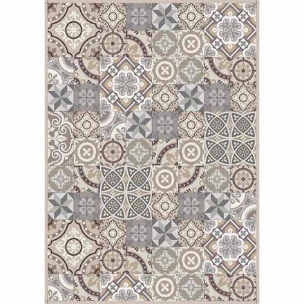 Chemin de table à motifs en Pvc et polyester moderne - Malia
