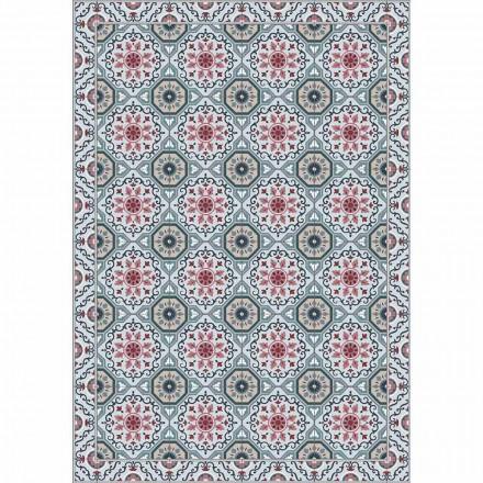 Chemin de table design coloré en PVC et polyester avec fantaisie - Meriva