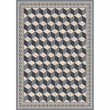 Chemin de table à motifs en Pvc et polyester moderne - Romio