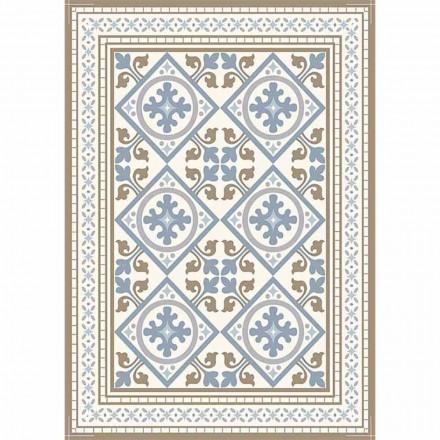Chemin de table moderne à motifs en PVC et polyester - Leno