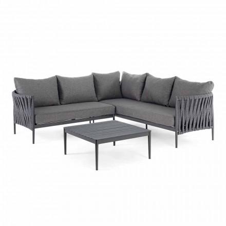 Corner Garden Design Lounge, Homemotion - Coussins amovibles Lucio