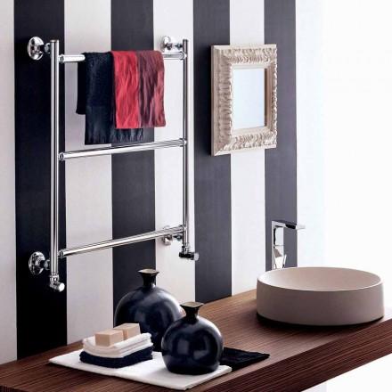 Sèche-serviette électrique chromé de design moderne Gaia Scirocco H