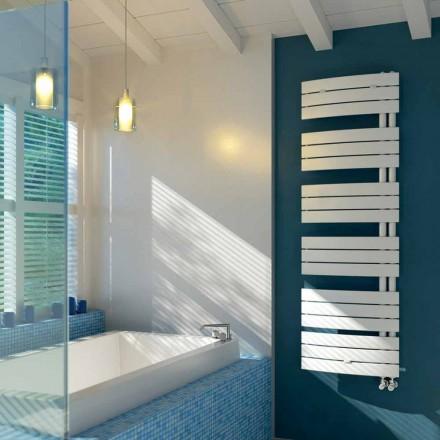 Sèche-serviette électrique de design en acier blanc Sail Scirocco H