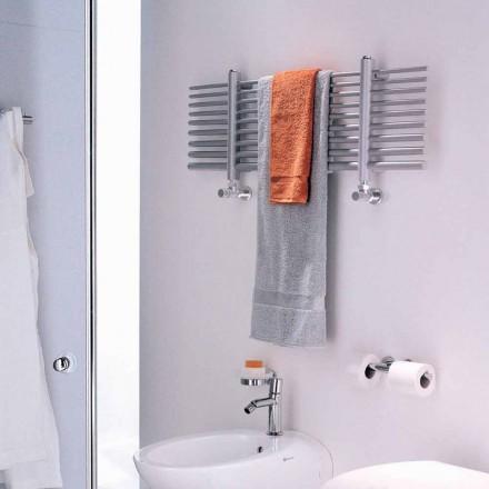 Sèche-serviette horizontal à eau chaude de design Selene Scirocco H