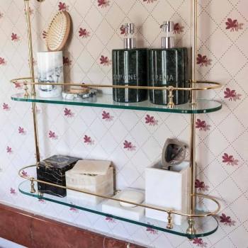 Boîte avec Couvercle en Marbre Portoro Carré Design Italien - Maelissa