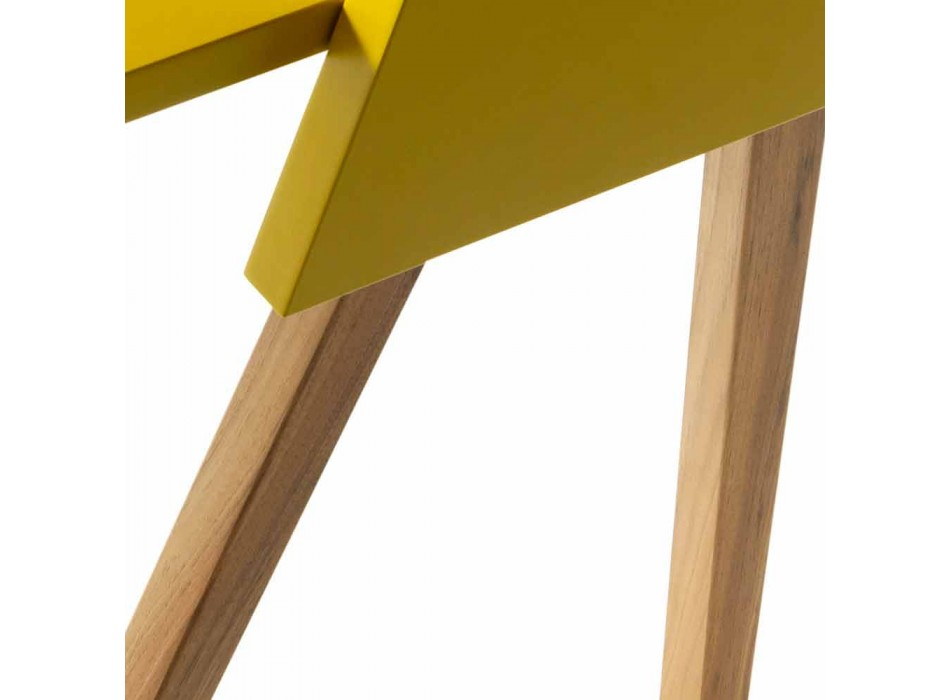 Bureau design multicouche en bois Grilli Hemingway made Italy