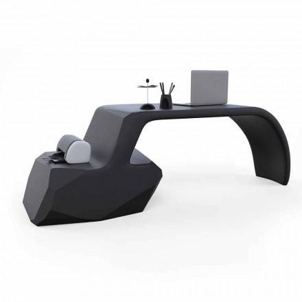 Bureau moderne en Solid Surface® Gush, fait en Italie