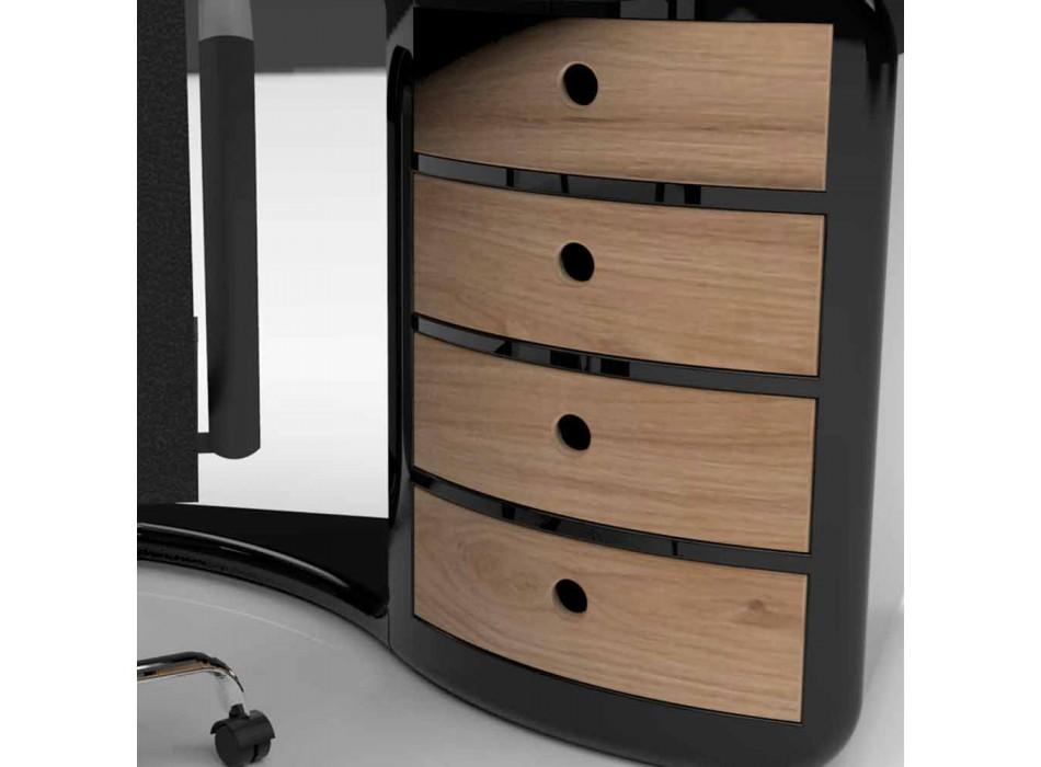 Bureau design avec tiroirs made in Italy, Milazzo