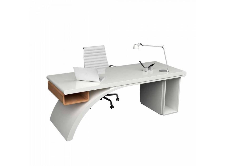 Bois bureau et Adamantx® Bridge, fabriqué en Italie