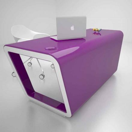 Bureau de design en Solid Surface fabriqué en Italie, Ego