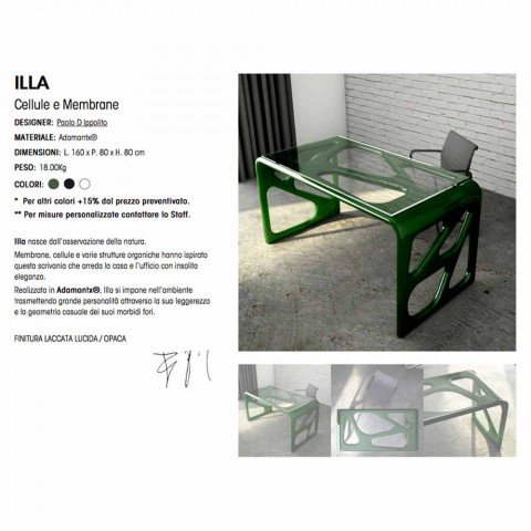 Bureau design moderne Illa Made in Italy