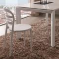 Chaise blanche de design moderne Derulo