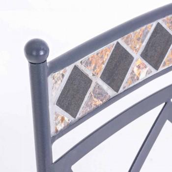 Chaise d'extérieur avec / sans accoudoirs Design avec coussin - Letizia