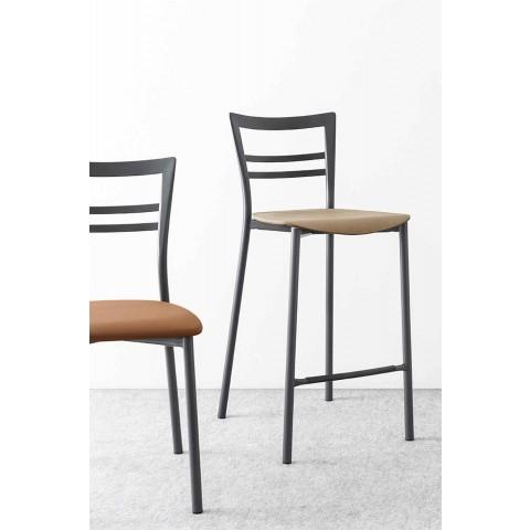 Chaise de cuisine design moderne en polypropylène et métal Made in Italy - Aller