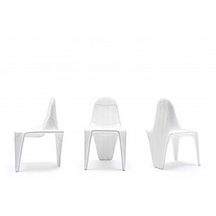 Chaise d'extérieur moderne F3 de Vondom en polyéthylène, 2 pièces
