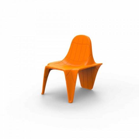 Chaise de jardin empilable F3 de Vondom, en polyéthylène
