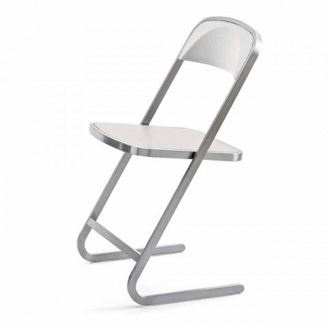 Chaise de jardin empilable au design moderne Made in Italy - Boston
