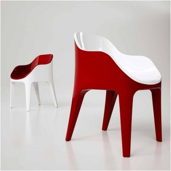 Chaise design en Adamantx® Pointer Made in Italy