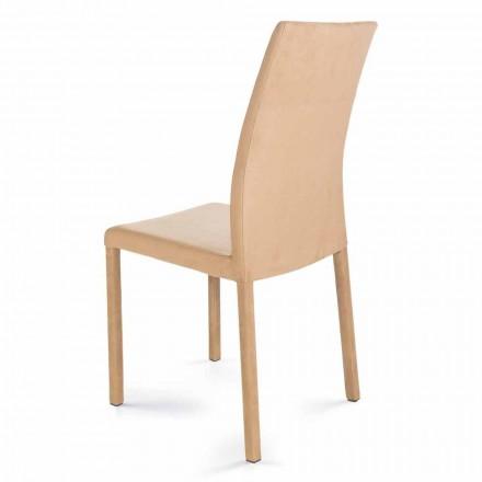 Chaise moderne de design faite en Italie Jamila pour salle à manger