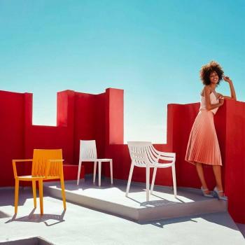 Spritz by Vondom chaise de jardin en polypropylène, design moderne