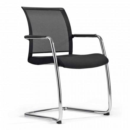 Chaise pour la salle de congrès ou pour la salle de réunion dans Tecnorete et Fabric, 2 pièces - Vespasiano