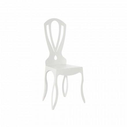 Chaise de salle à manger moderne en fer fabriqué en Italie - Giunone