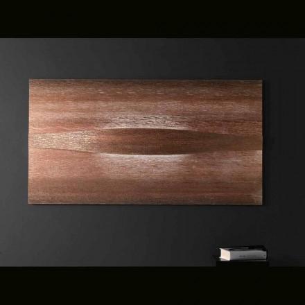 Selene Art&Light applique avec deux panneaux   texturés 140xH75 cm