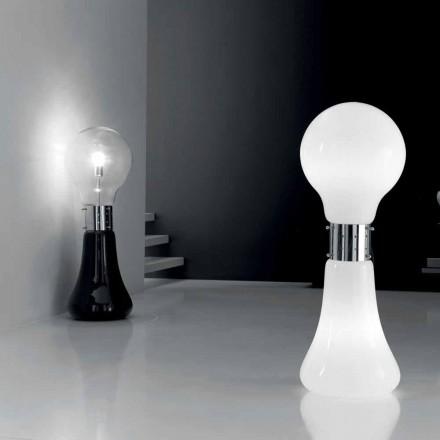 Selene Dina lampe de table avec verre soufflé de Murano.