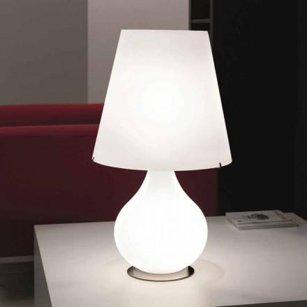 Selene Forever lampe de table en verre soufflé  Ø41 H 72cm