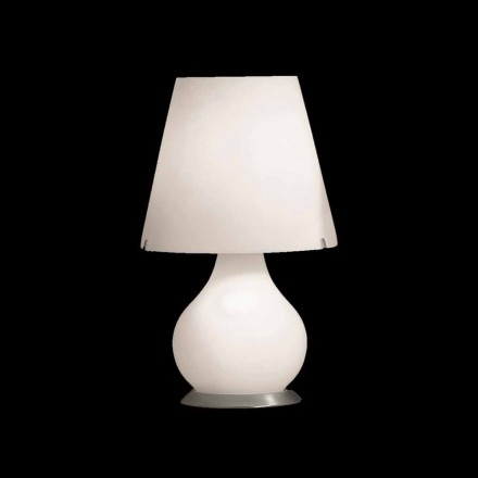 Selene Forever lampe de table   Ø24 H41cm, verre soufflé made in Italy