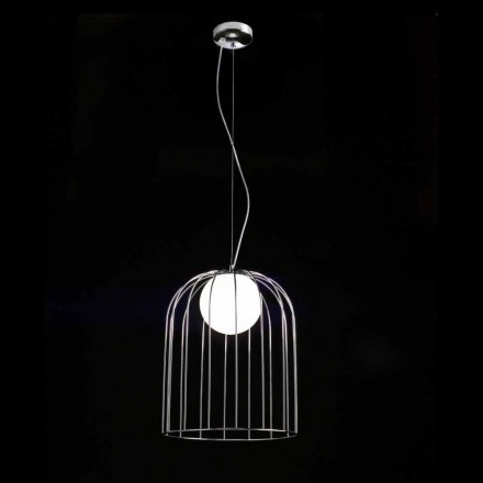 Sele Kluvi lampe suspendue en verre soufflé Ø33 H 41/150 cm