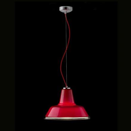 Selene lampara lampe suspendue en verre soufflé  Ø37 H 24/140 cm