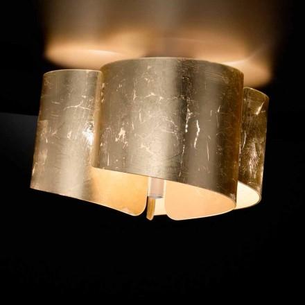 Selene Papiro plafonier en cristal made in Italy Ø46 H 28 cm