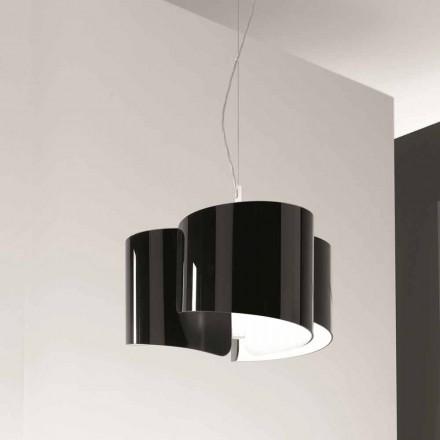 Selene Papiro lampe  de design  suspendue made in Italy Ø46x H 140 cm